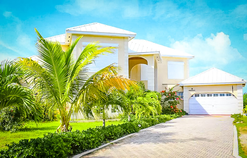 Vacation rental in Providenciales, Turks and Caicos.