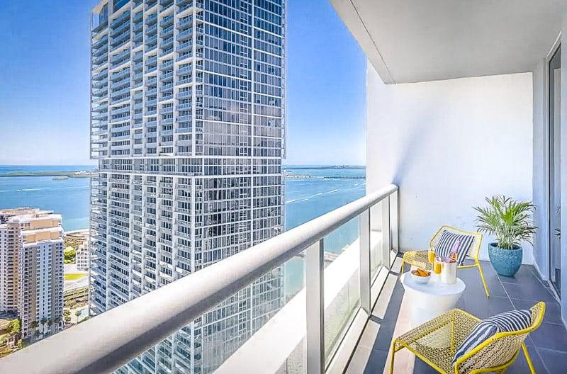 Skyline views of Miami, Florida