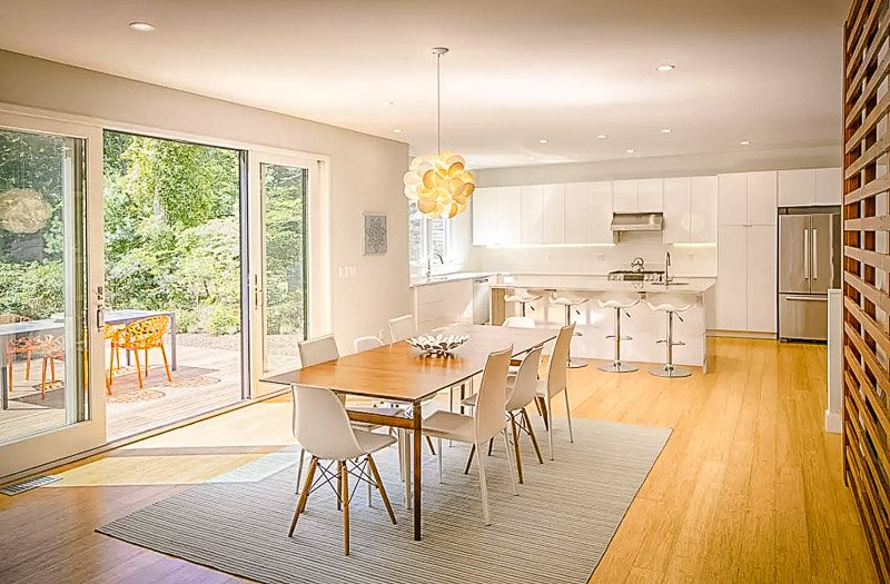 Beautiful interior living space