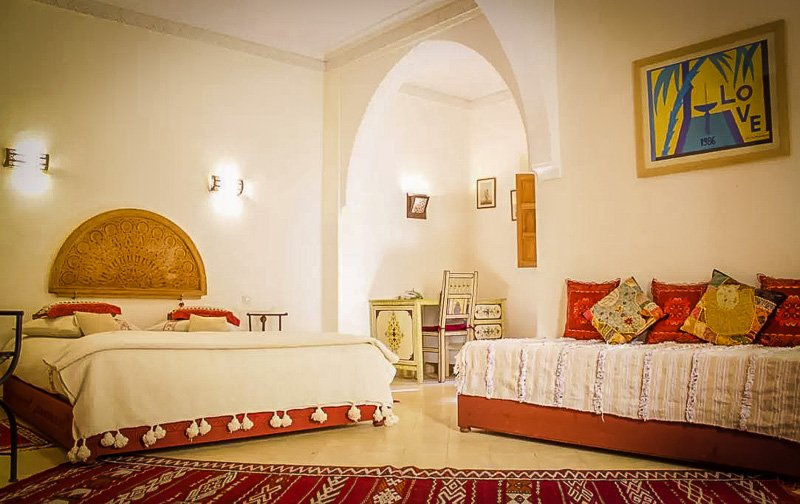 A rental in Morocco with lots of charm and personality