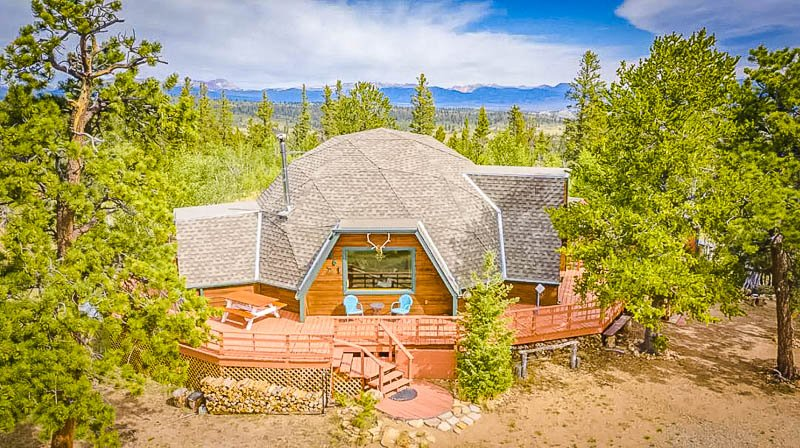 This geo dome is among the coolest Airbnbs in Colorado.