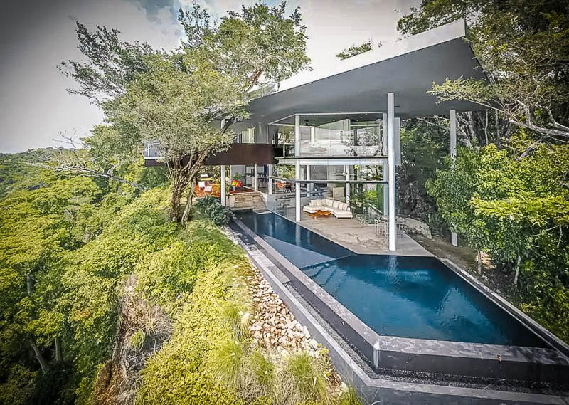 A luxury villa Airbnb in Costa Rica that's among the coolest in the world.