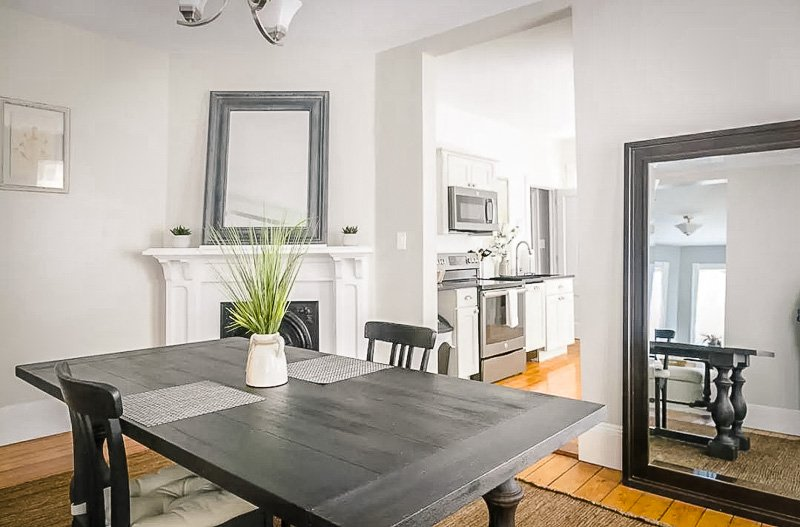 Beautiful interior design in Newport rental home. A top vacation home on VRBO Rhode Island
