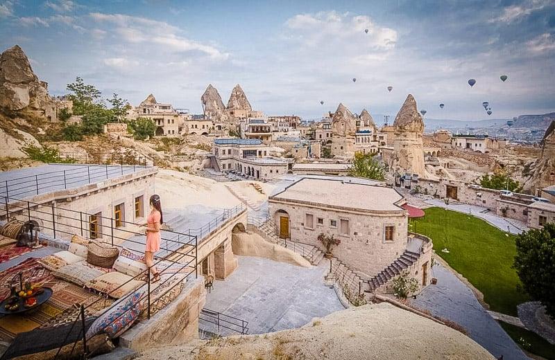 Sweeping vistas of Turkey