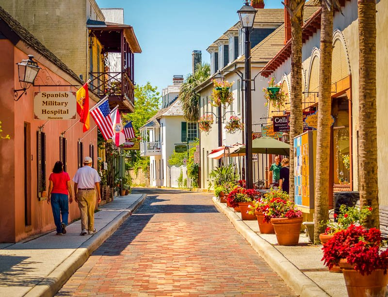 Located in St. Augustine, Florida, Aviles Street is the oldest street in the country.