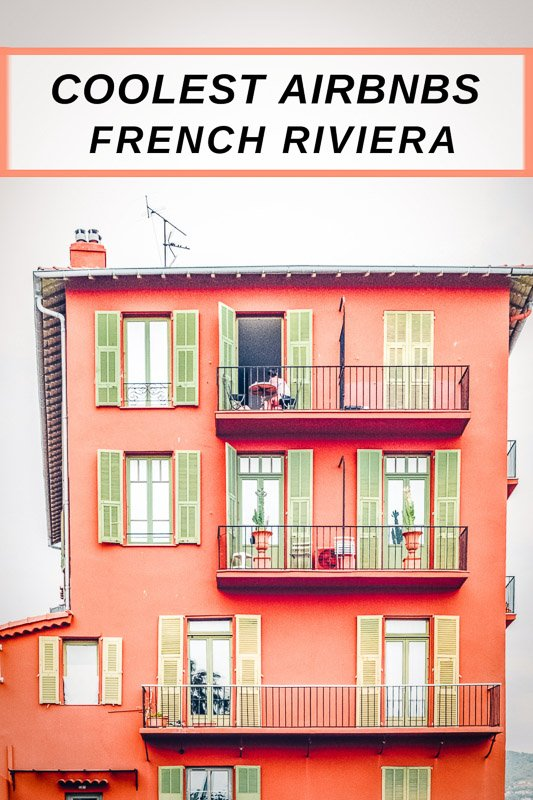 French Riviera Airbnbs pinterest photo pin
