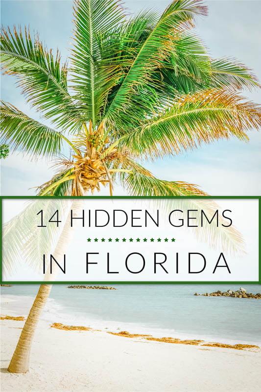 Best hidden gems in Florida to visit