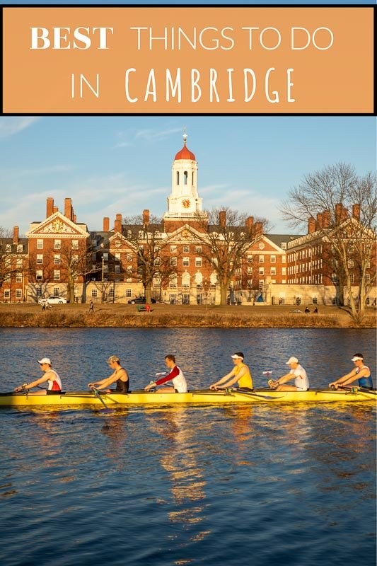 Renting a boat on the Charles River is one of the top things to do in Cambridge, MA.