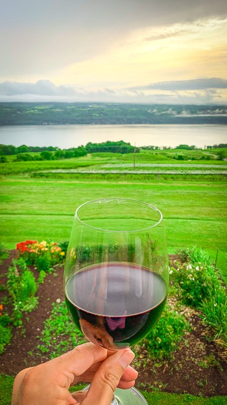 Sip on wine as you look out over the lakes, and you'll see why this is among the best hidden vacation spots in the USA.
