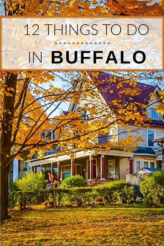 Fun things to do in Buffalo, NY pinterest image