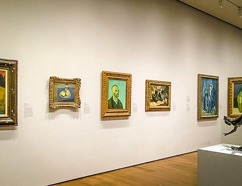 The Harvard Art Museums boast a vast art collection.