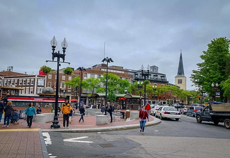 Harvard Square is always one of the first places I bring visitors in Cambridge.