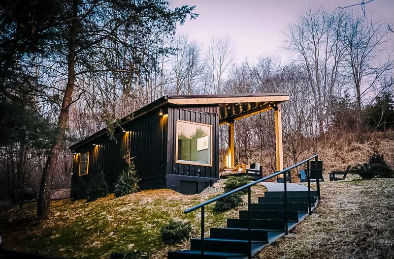 One of the coolest romantic Airbnbs in the US.
