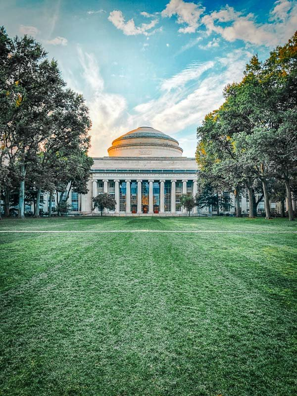 The MIT campus is definitely worth a stroll when you're visiting Cambridge.