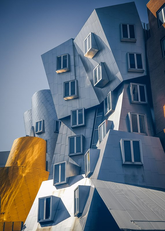 To say that the Ray and Maria Stata Center is unconventional is an understatement!