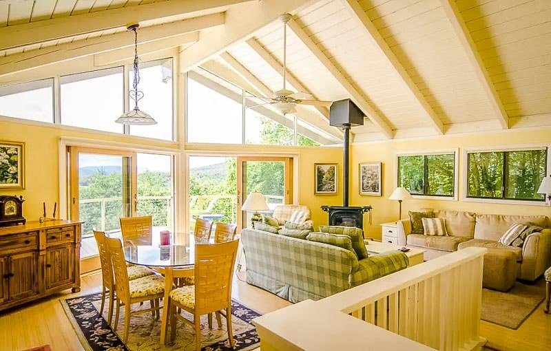 A home to rent in VT near Quechee Gorge