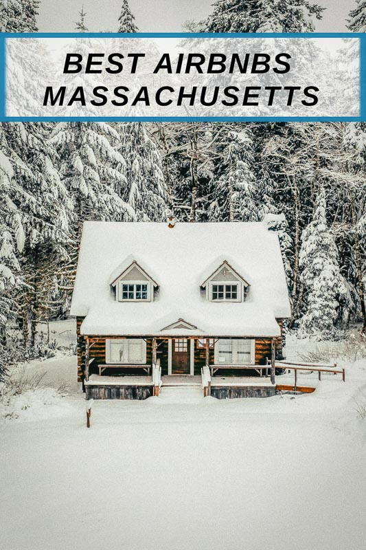 Unique Airbnbs in Massachusetts pinterest photo pin