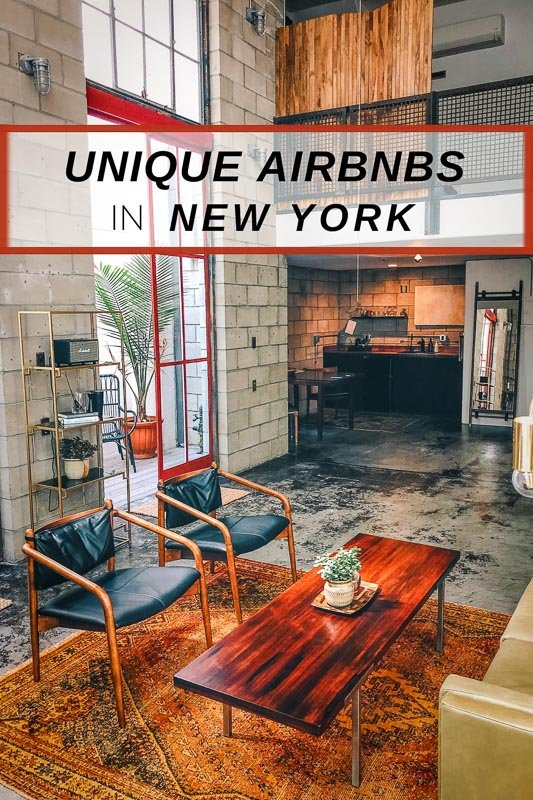 Cool Airbnbs in New York to visit