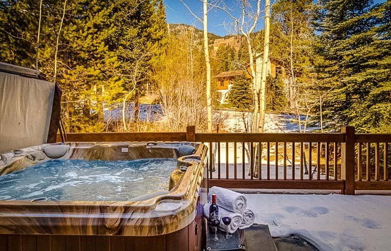 One of the most beautiful Airbnbs in Jackson Hole, Wyoming with a hot tub