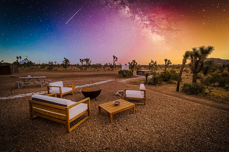 Stargazing is one of the top things to do in Joshua Tree, California