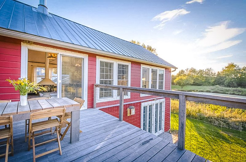 A barn Airbnb like no other.