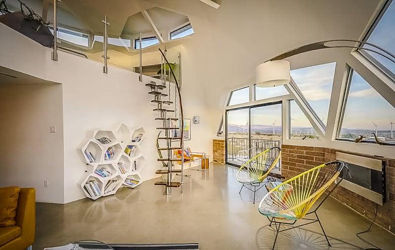 Creatively designed interior decorations
