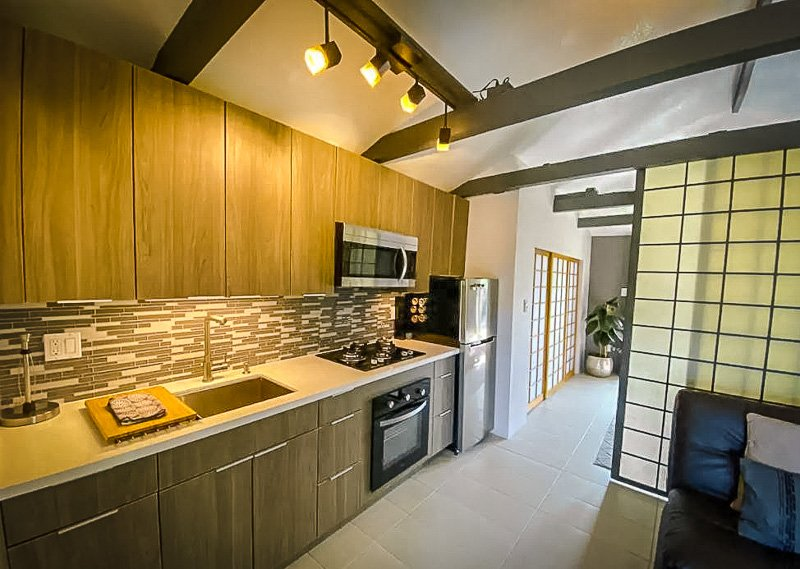 A cozy interior layout in this astoning rental property.