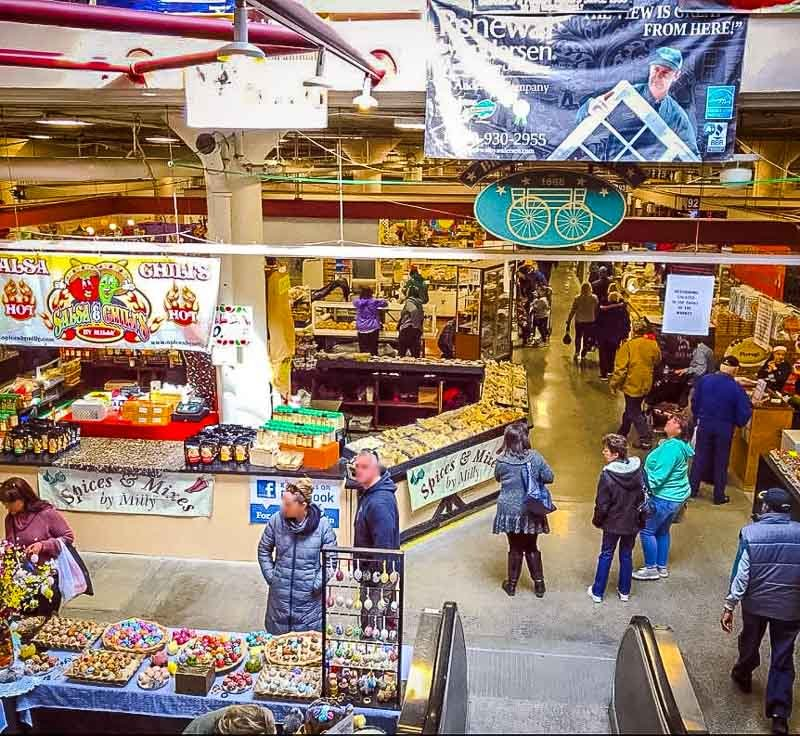 Broadway Market is one of the top things to do in Buffalo, NY.