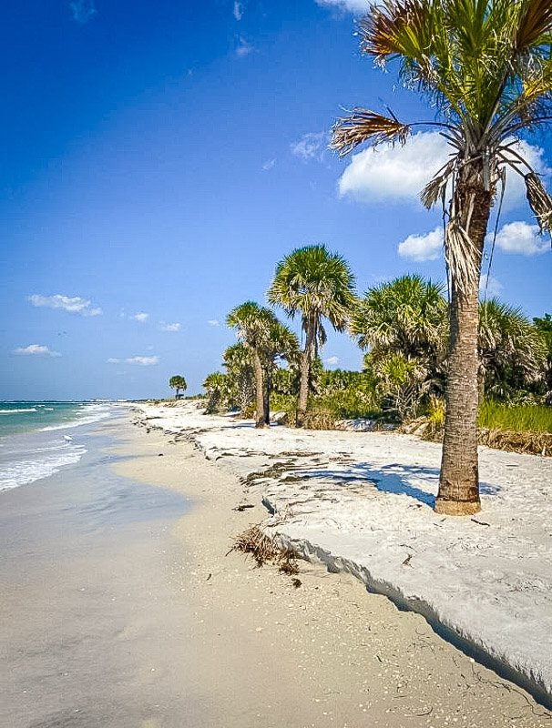 Caladesi Island is a secluded tropical oasis in Florida. It deserves a spot among the best hidden gems in Florida.