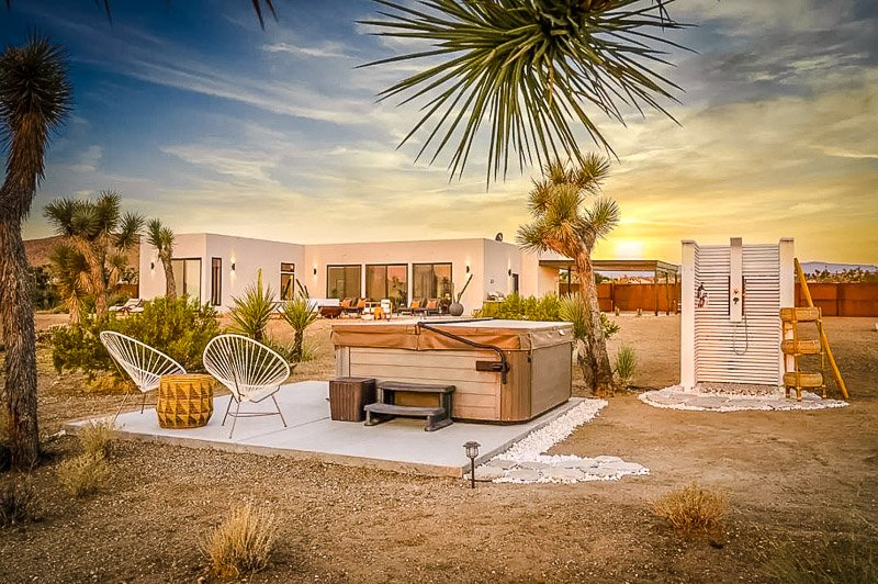 A beautiful home for rent in Yucca Valley, California.