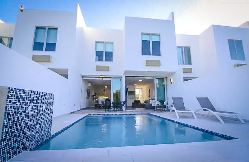A luxury townhouse in Puerto Rico