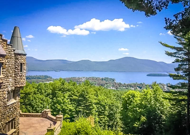 Enchanting views from this magnificent NY vacation rental on Airbnb and VRBO