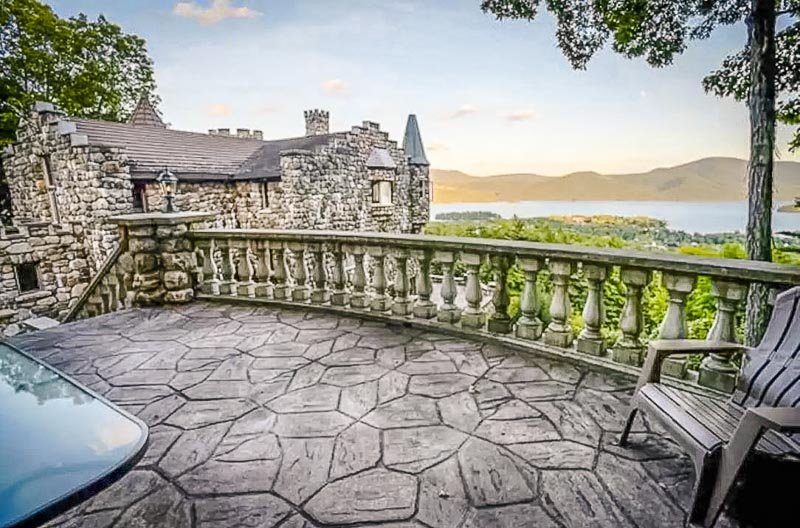 Nothing beats Lake George and castles overlooking the mountains