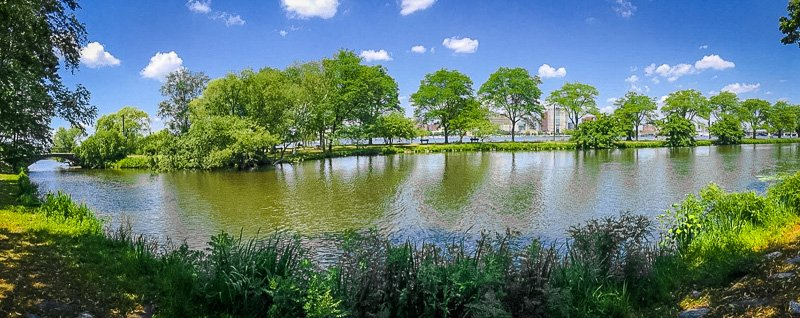 While you're visiting Cambridge, don't miss the Charles River Esplanade!