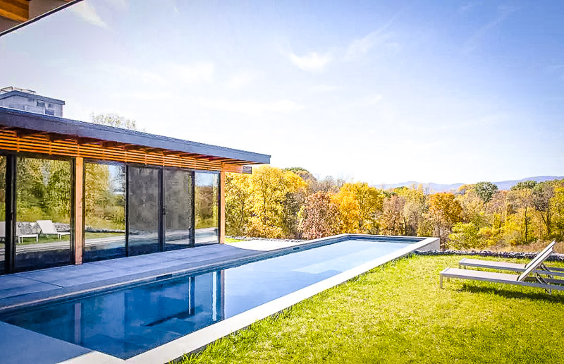 A NY vacation rental with a private pool