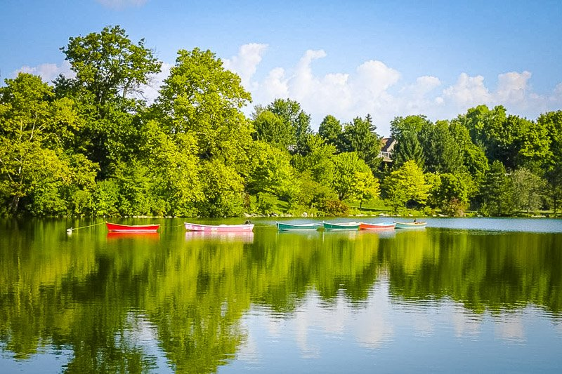 Looking for beautiful scenery in Buffalo, NY? Head over to Delaware Park.