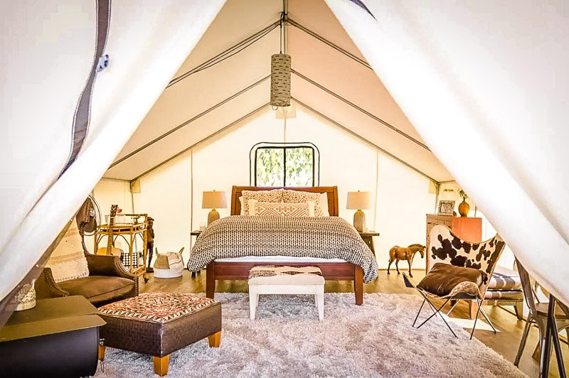 An eco tent like no other