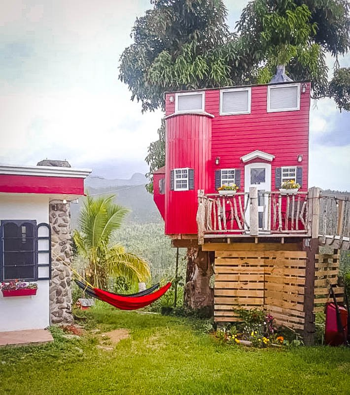 This is definitely among the coolest Airbnbs in Puerto Rico.