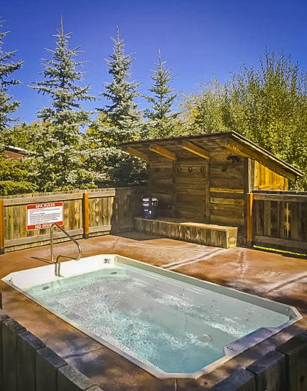 With mountain views and a relaxing hot tub, this is definitely one of the best Airbnbs in Jackson Hole Wyoming