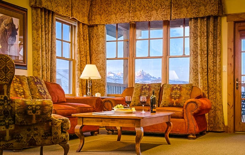 Sophisticated Airbnb vacation rental in the mountains of Jackson Hole, Wyoming