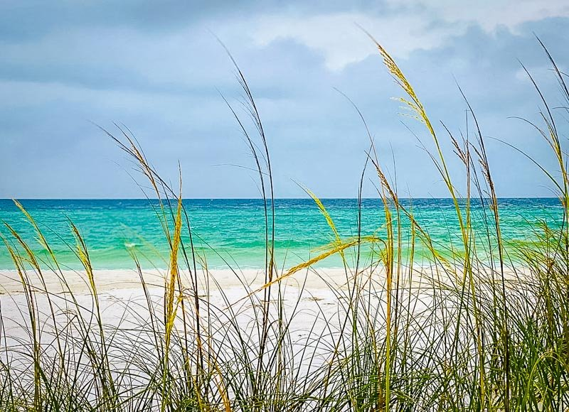 The Gulf Islands National Seashore in Florida is much more secluded than other stretches of coastline in the state.