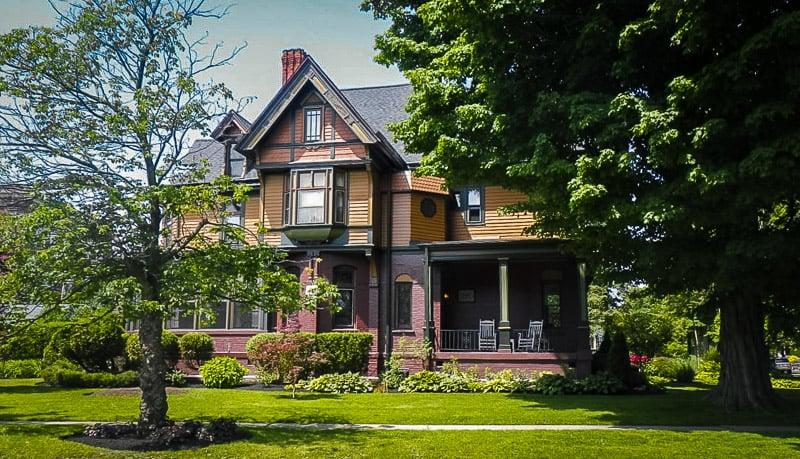 Historic mansion in Allentown.