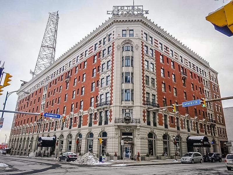 The Hotel Lafayette in Buffalo, New York.