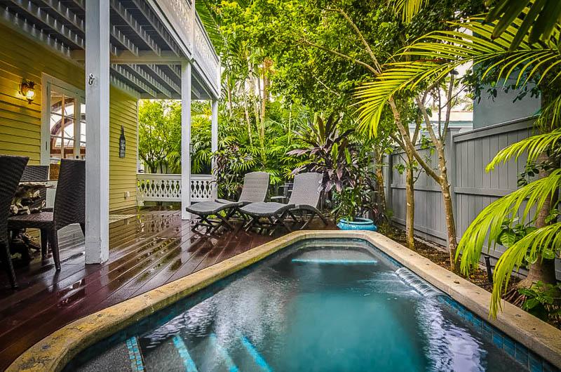 Florida Keys vacation rental on the beach