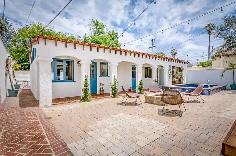 A beautiful bungalow in southern California