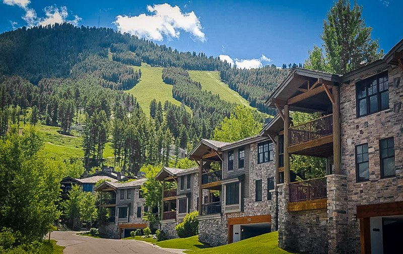A lodging accommodation in Jackson, Wyoming
