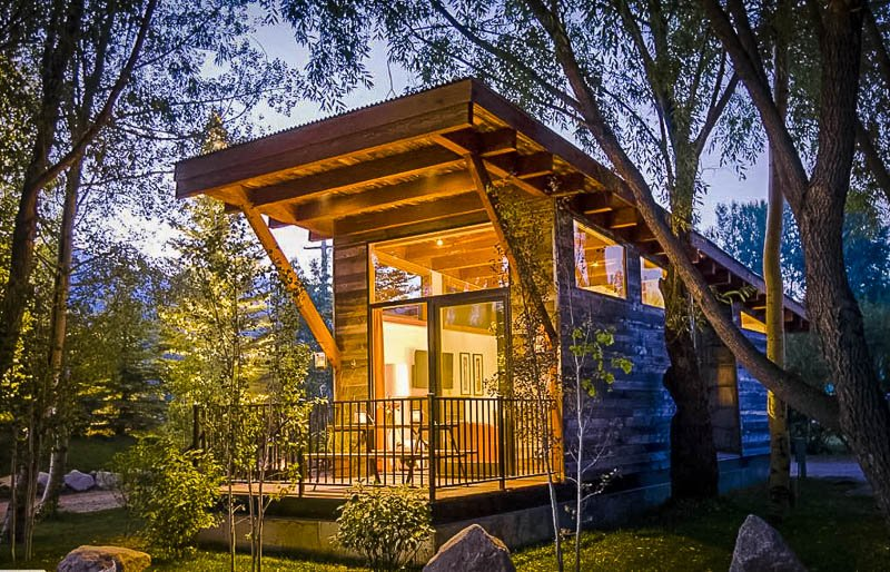 A unique luxury cabin in Wilson, Wyoming