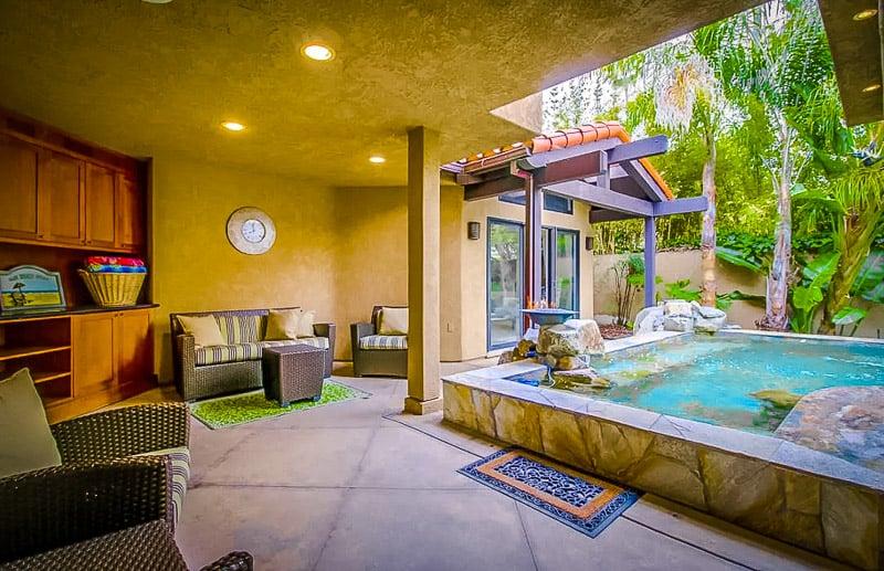An incredible Airbnb in La Jolla, California.