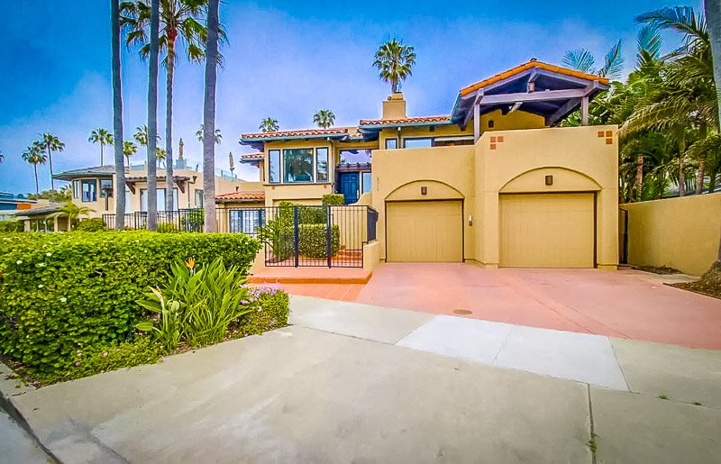 Airbnb vacation rental in southern California