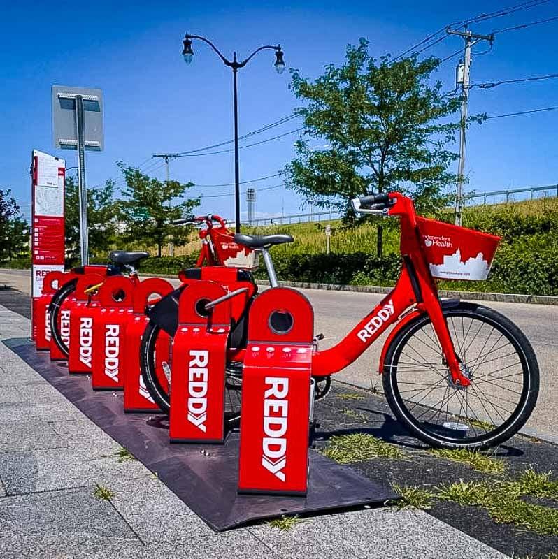 Reddy Bikeshare is found throughout Buffalo and Niagara Falls, New York